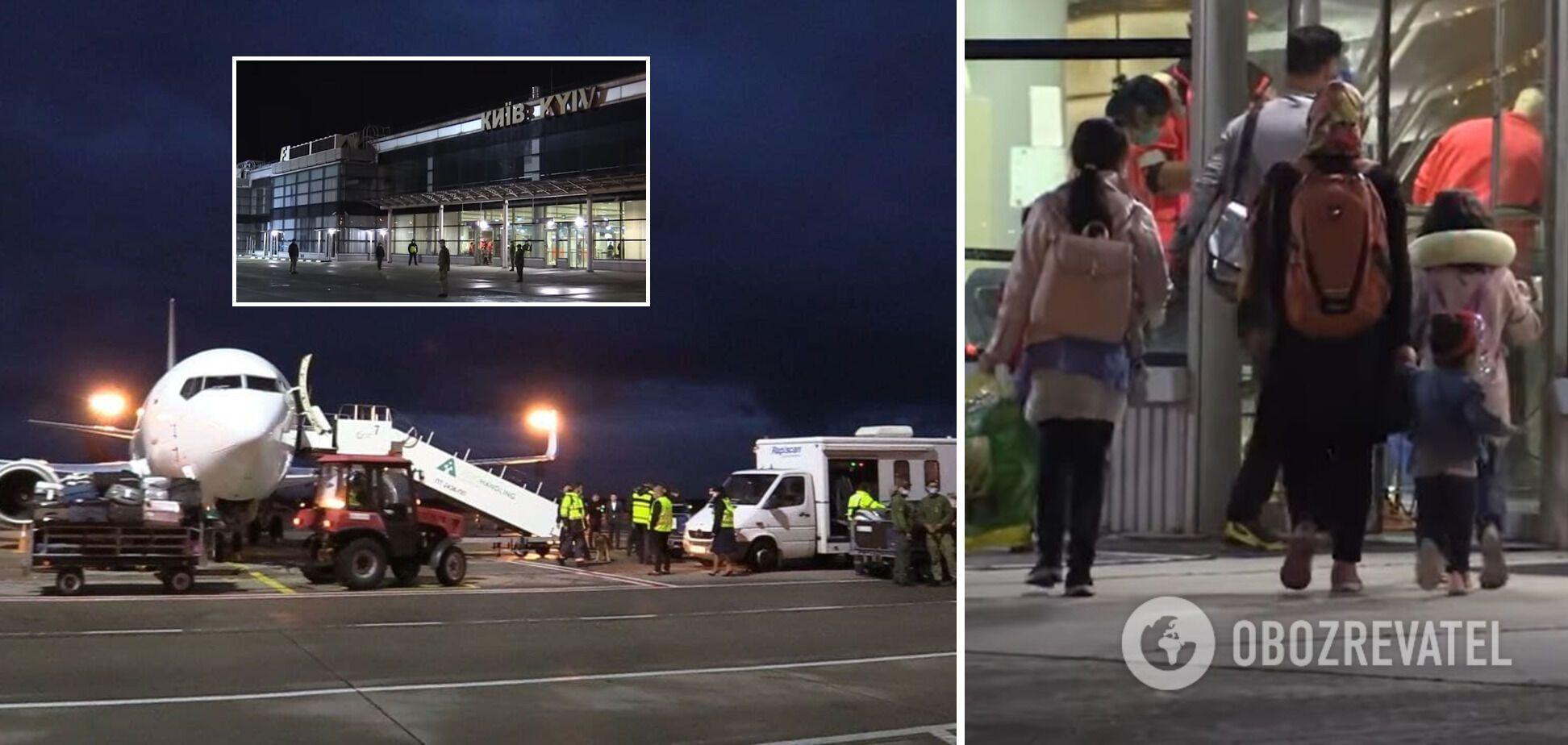 Евакуйовані з Афганістану успішно прилетіли в Київ