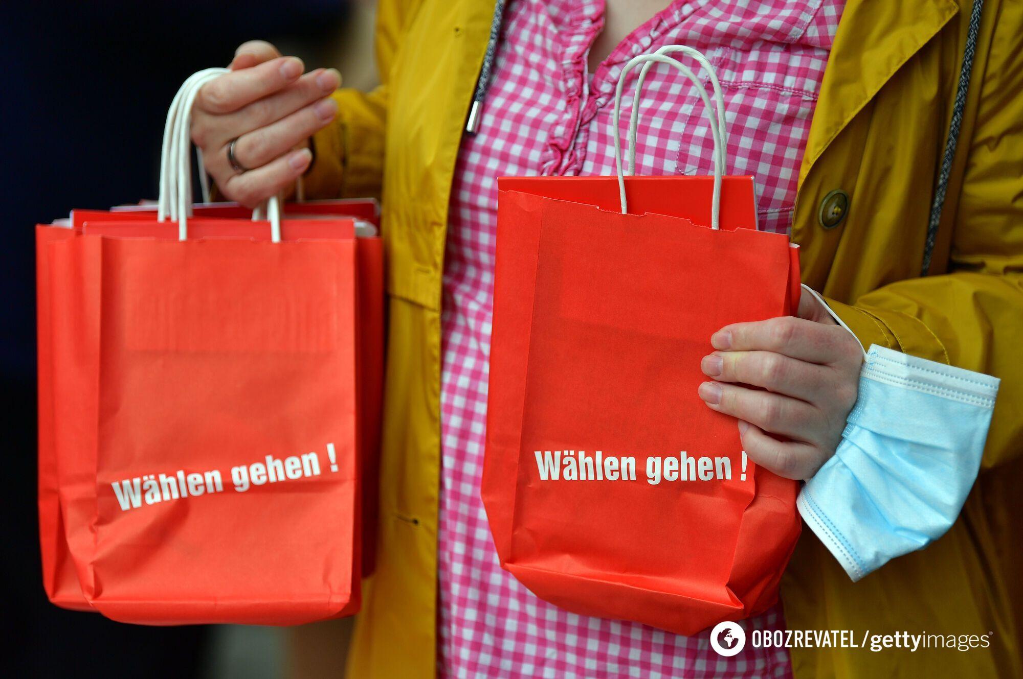 Вибори в бундестаг у Німеччині