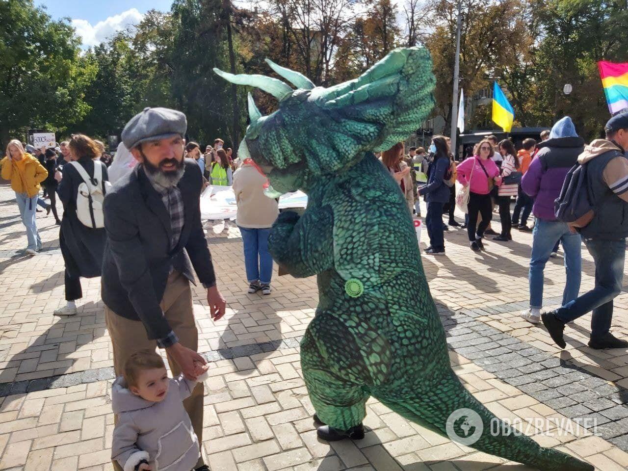 У Києві пройшов кліматичний марш.