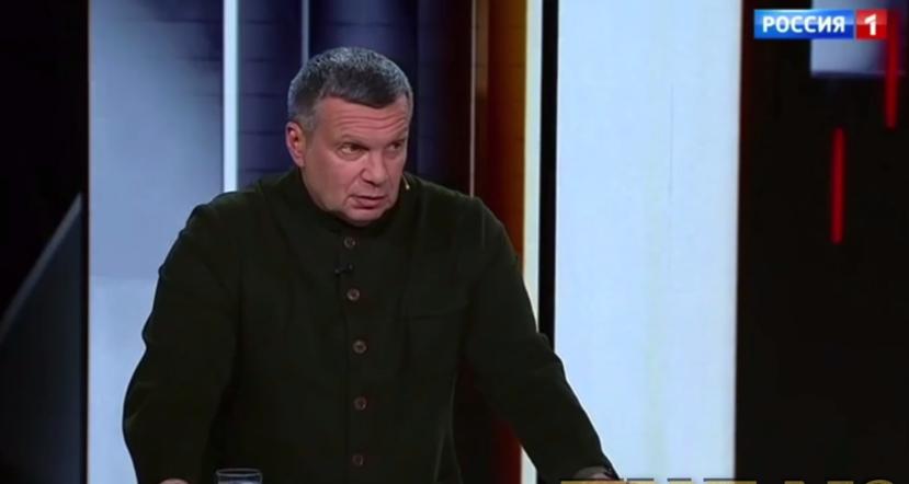 Соловьев обеспокоился безопасностью президента.