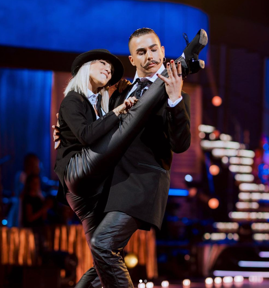 MELOVIN и Лиза Русина танцевали танго.