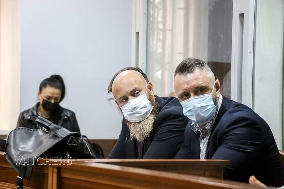 Андрій Антоненко на суді