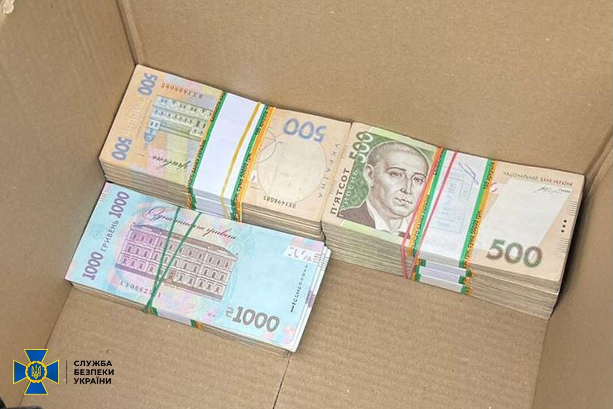 В ходе обысков изъяли почти пол миллиона грн