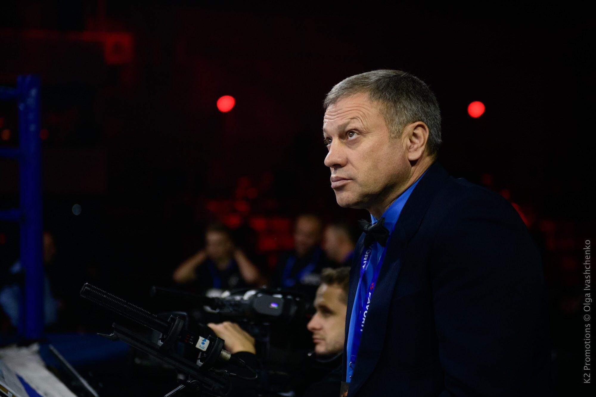 Український суддя Віктор Фесечко.