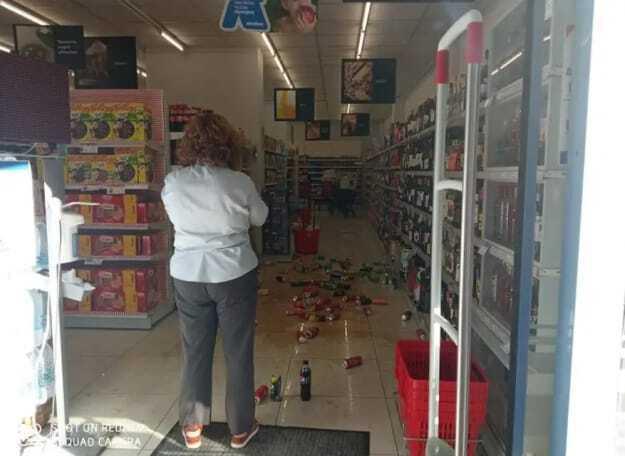 Землетрясение на Крите, Греция