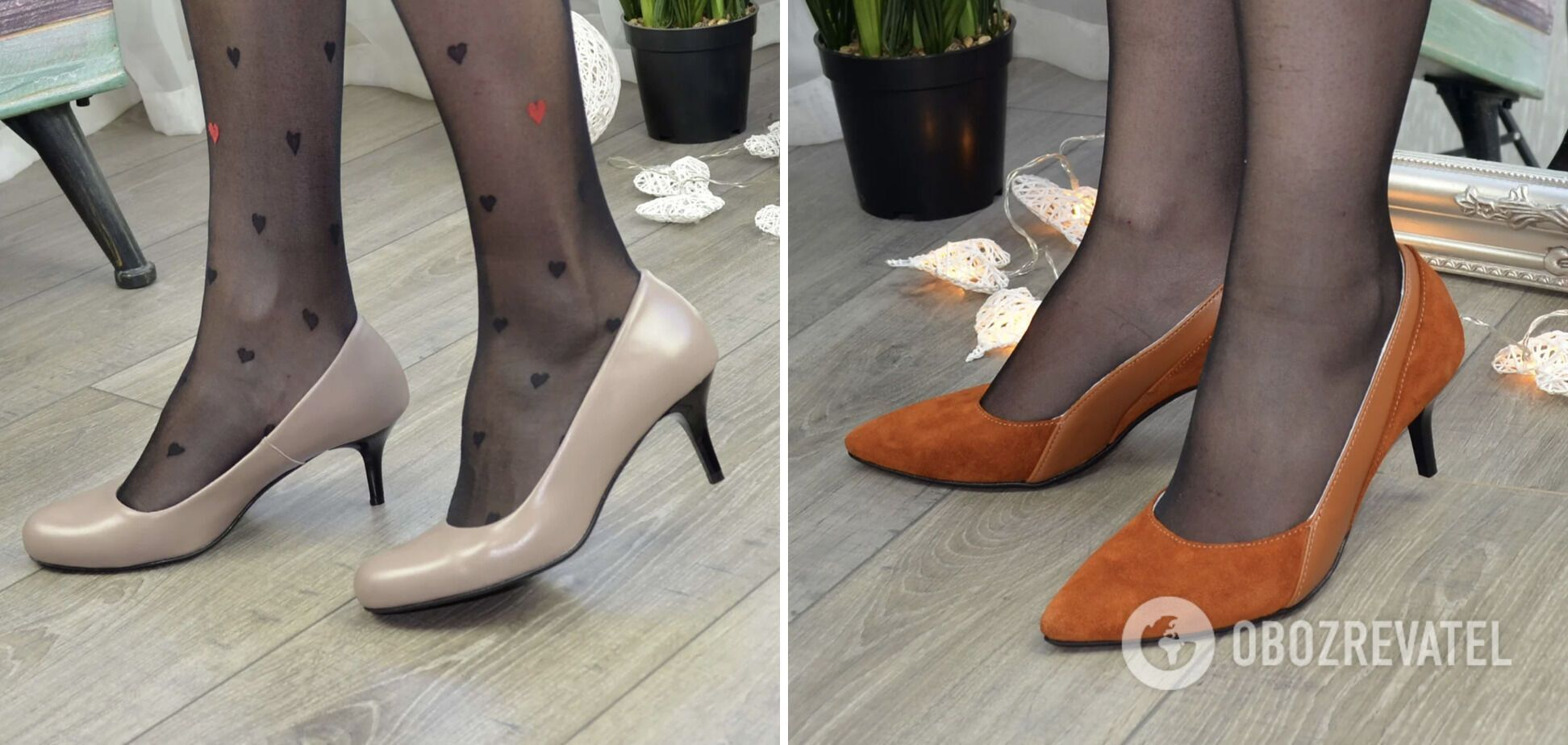 Туфли на маленькой шпильке не в моде.
