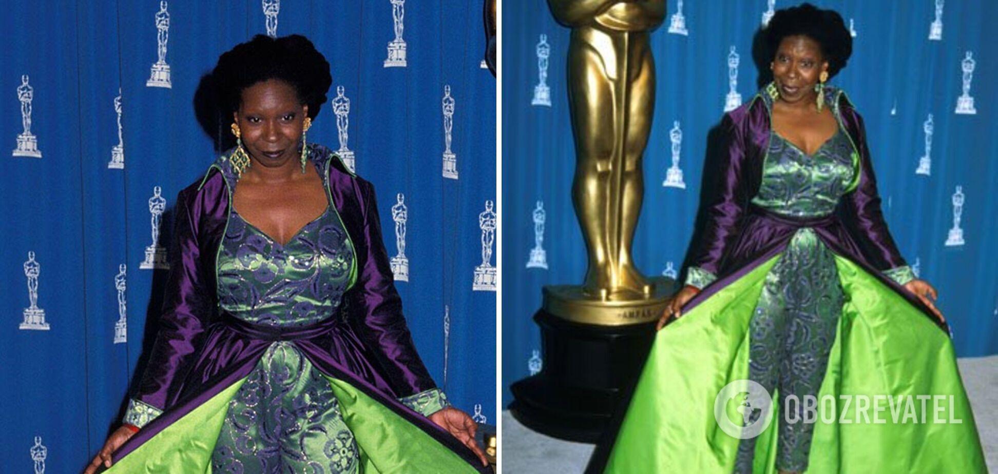 """Вупи Голдберг в платье на церемонии """"Оскар"""""""