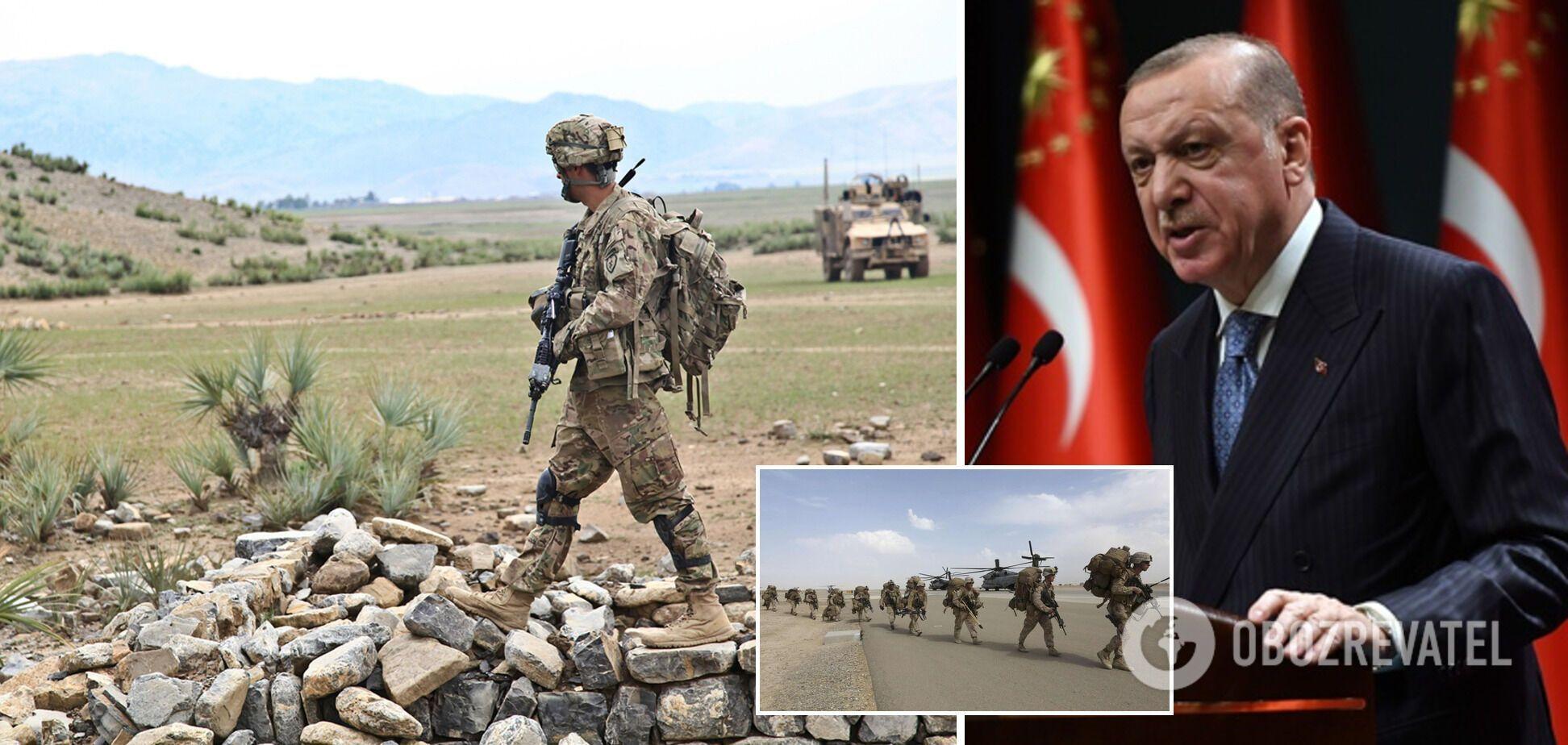 Эрдоган предложил США вывести армию из Сирии и Ирака по примеру Афганистана