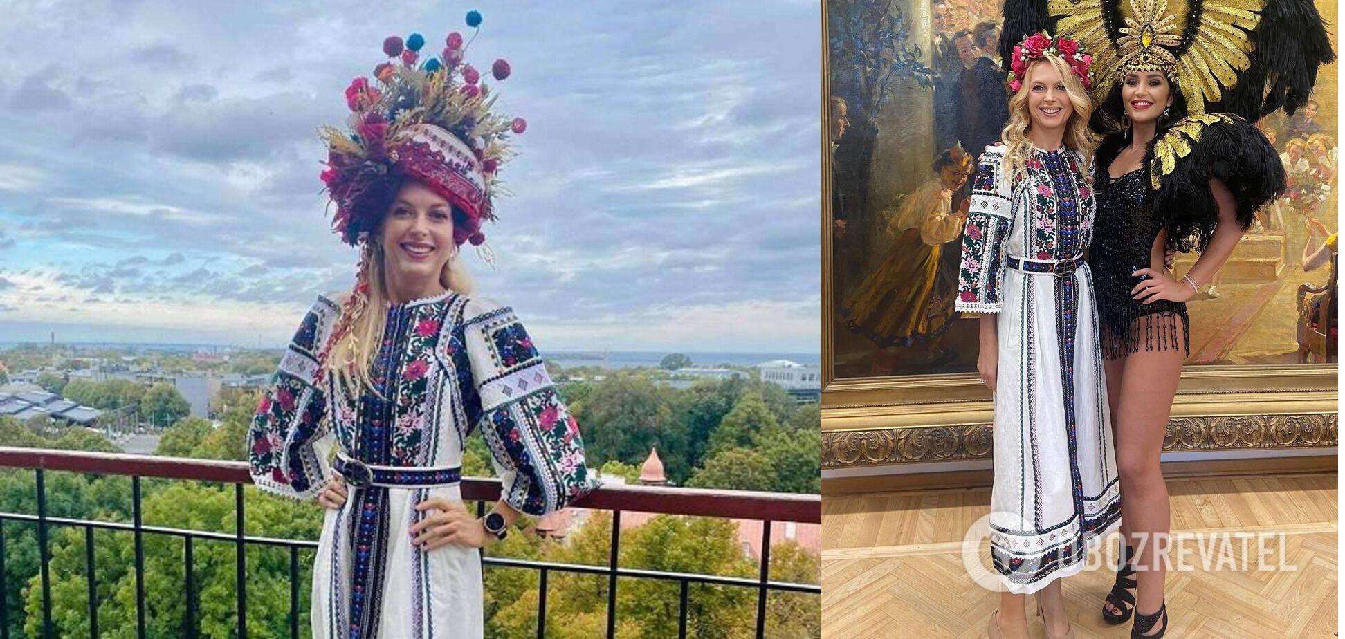 Зоряна в українському народному вбранні