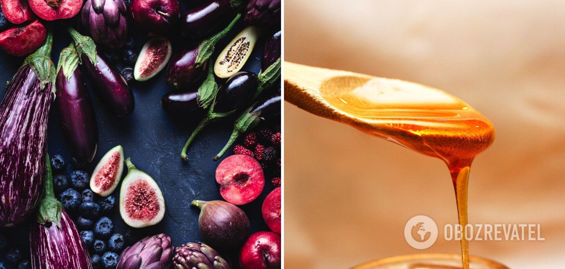 Фрукти, овочі та мед – кошерна їжа