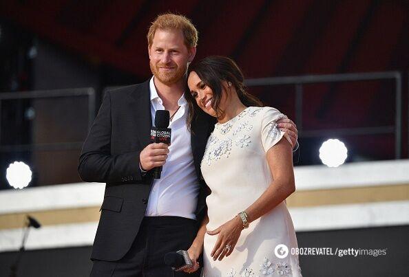Меган Маркл і принц Гаррі.
