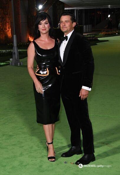 Співачка Кеті Перрі та актор Орландо Блум.