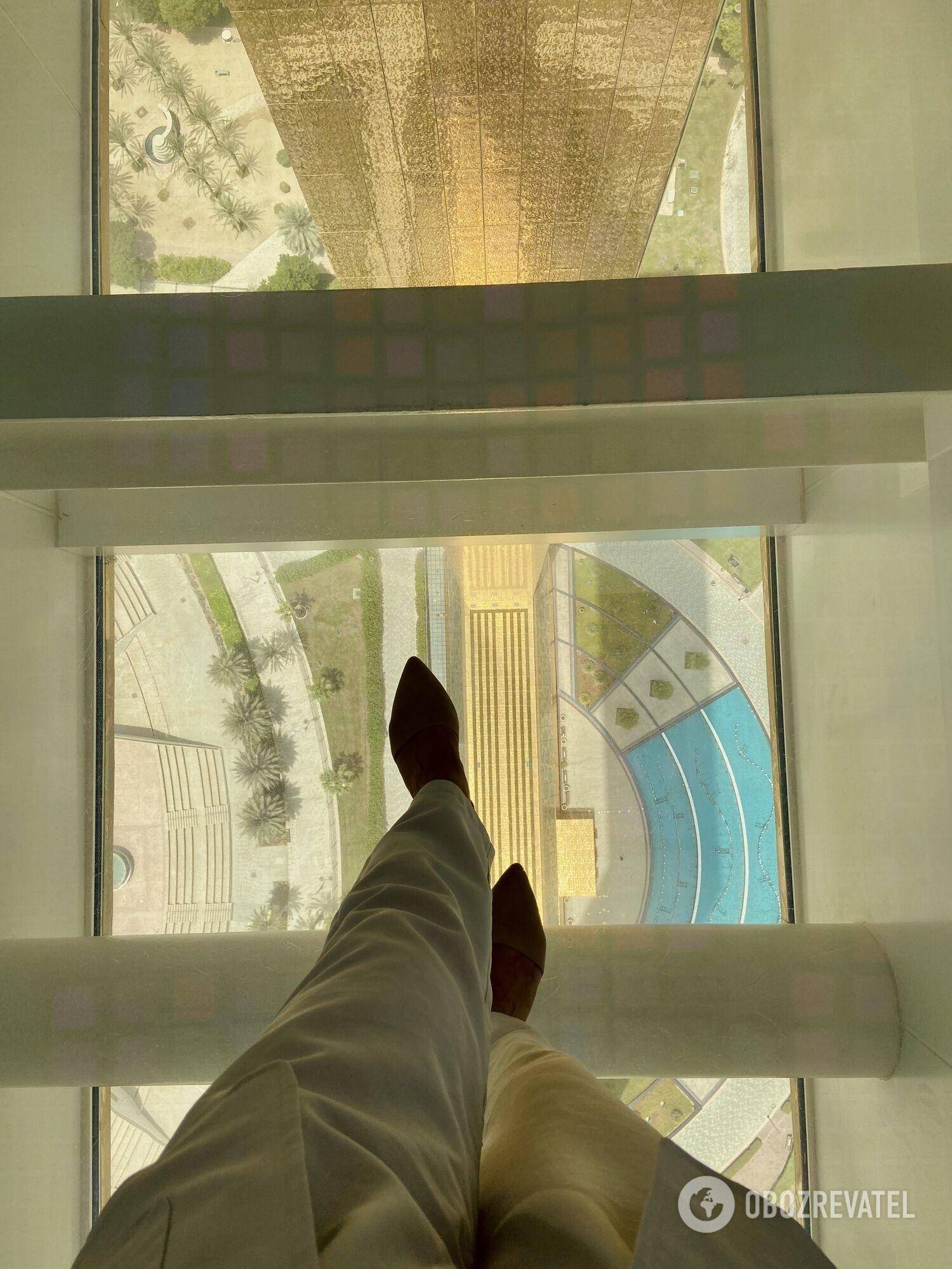 Стеклянная дорожка Dubai Frame