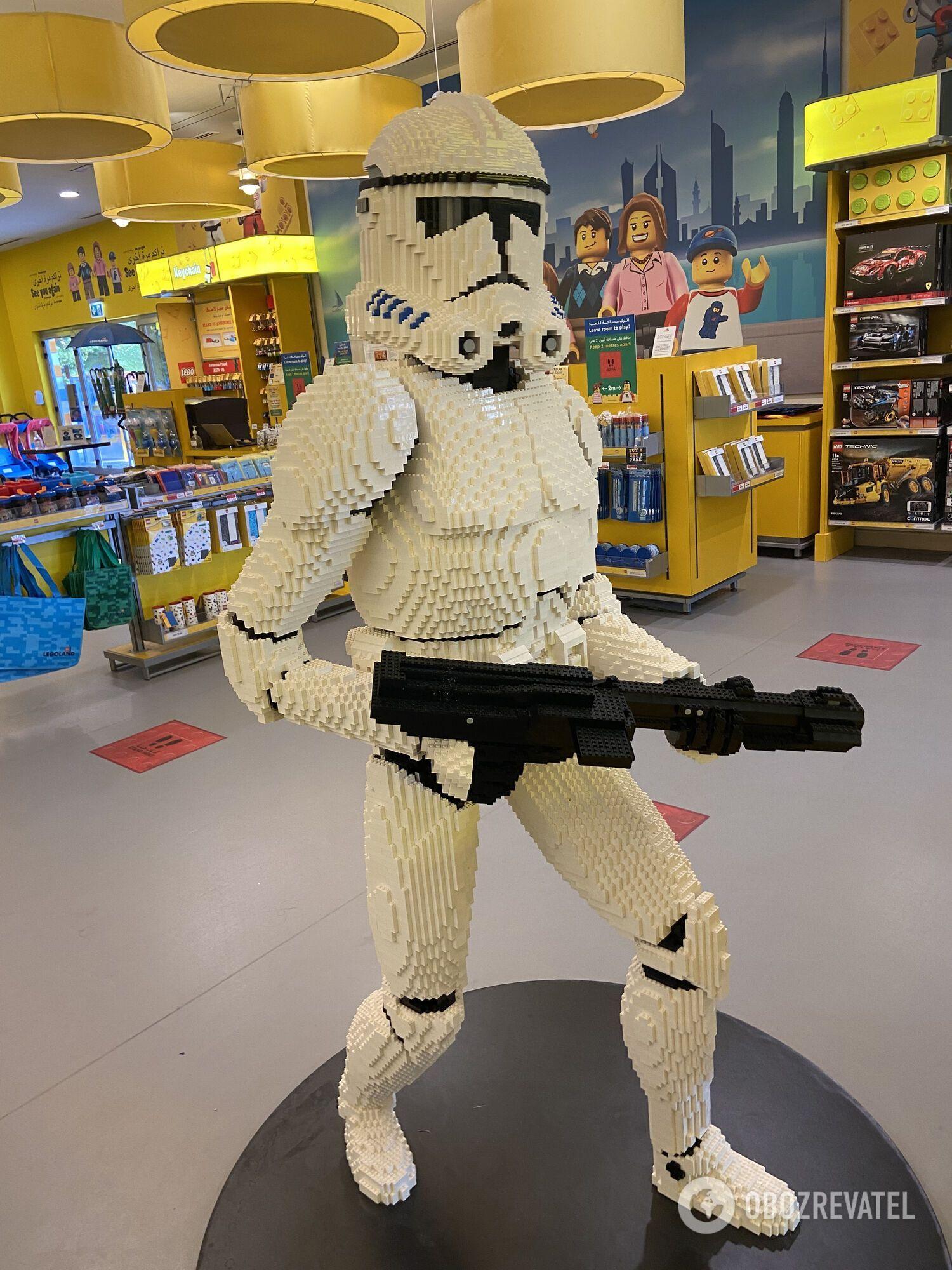 Магазин в Legoland