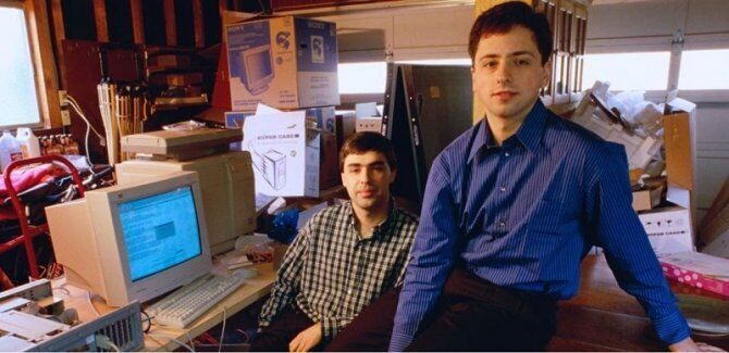 Ларрі Пейдж і Сергій Брін – засновники Google