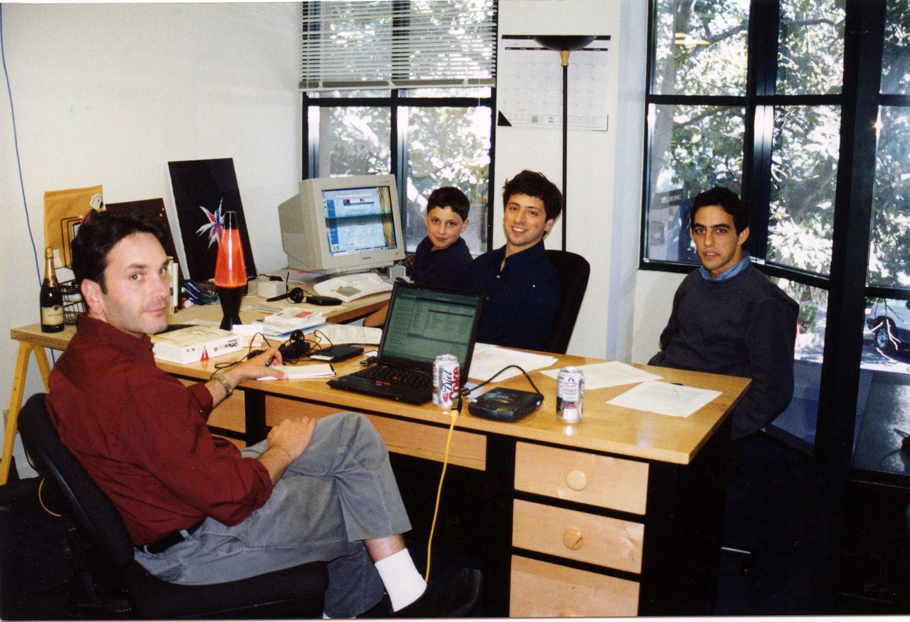 Перший офіс Google
