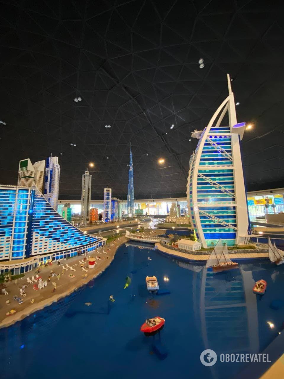 Дубай из лего в Legoland
