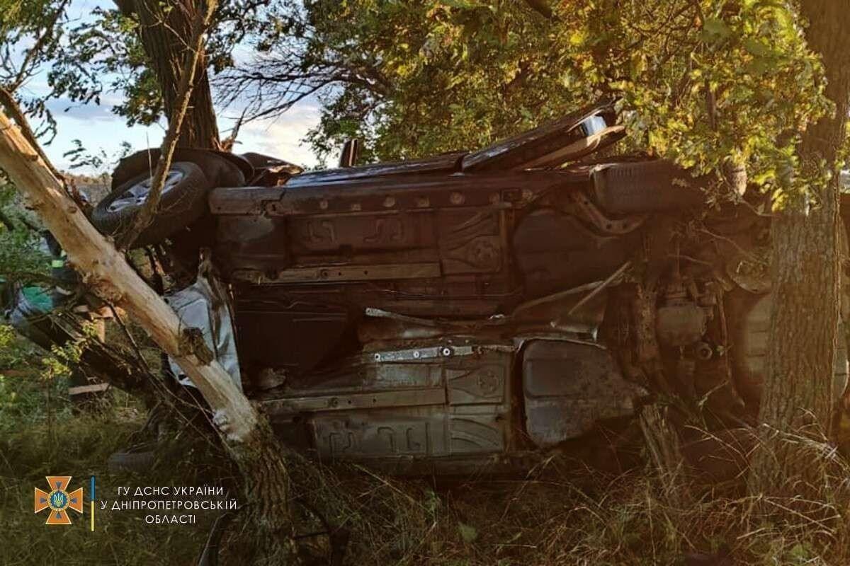 Авария произошла в Павлоградском районе.