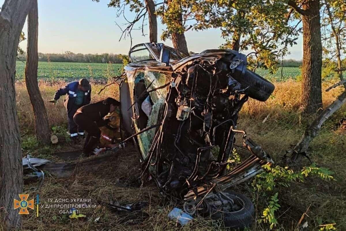 Погиб водитель машины.