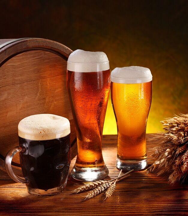 Різні сорти пива
