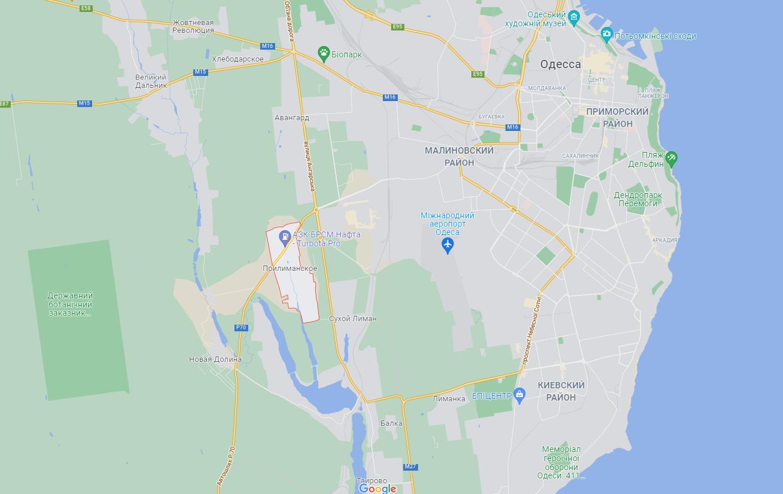Село Прилиманское расположено под Одессой.