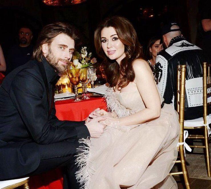 Анастасія Заворотнюк з чоловіком