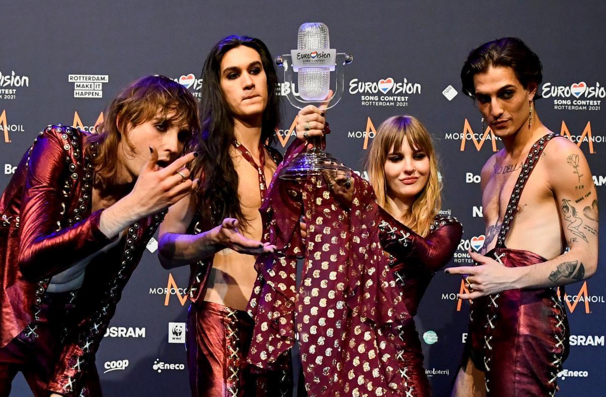 Переможці Євробачення Maneskin