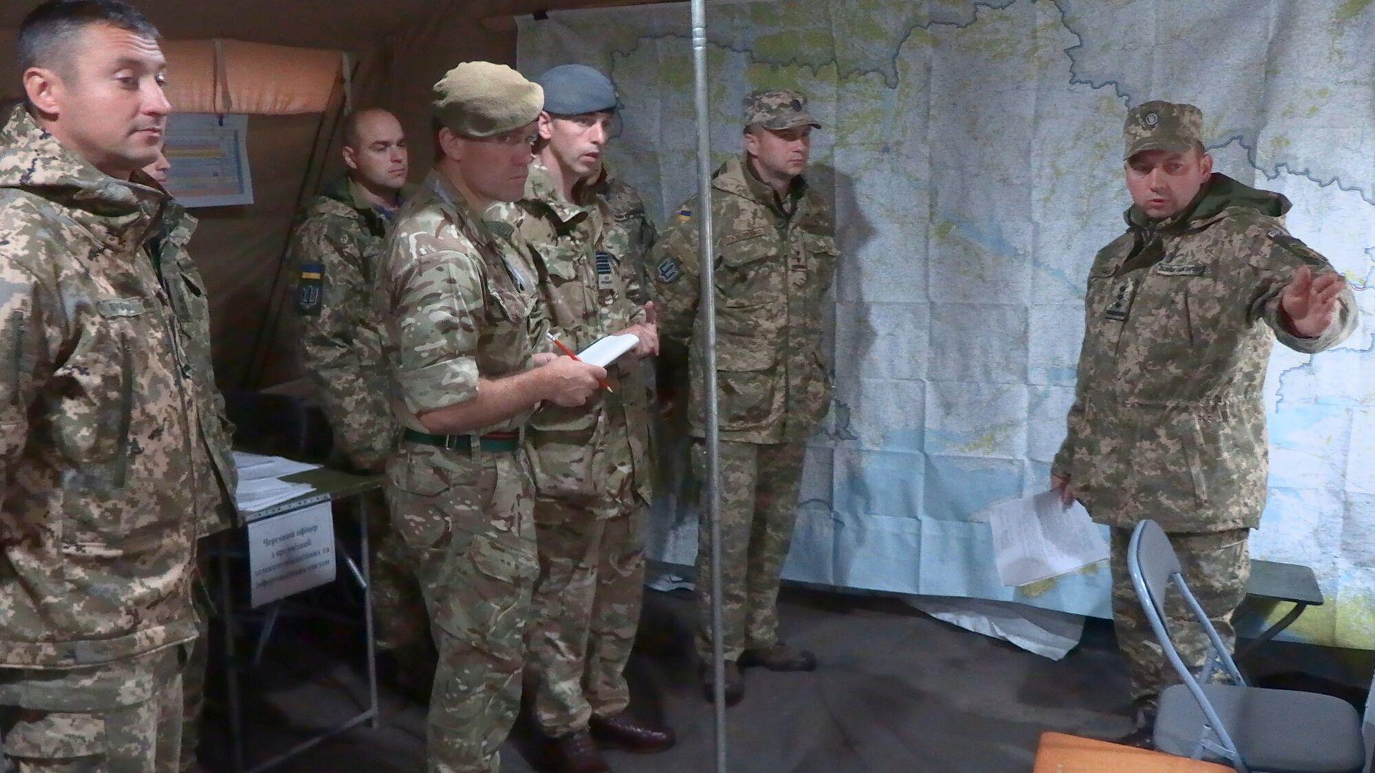 ЗСУ провели навчання з військовими Британії