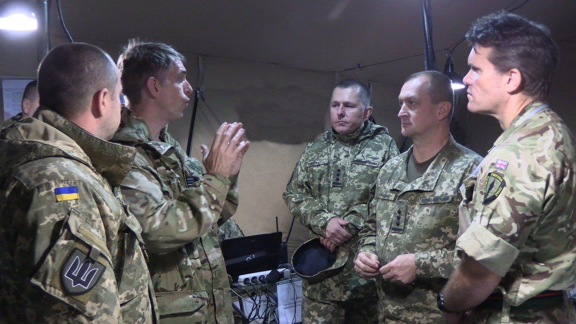 ЗСУ провели навчання з британськими військовими