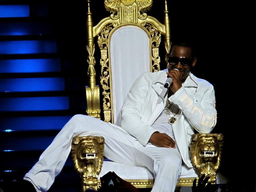 R. Kelly на концерте
