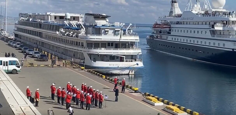 SeaDream II прибув в одеський порт