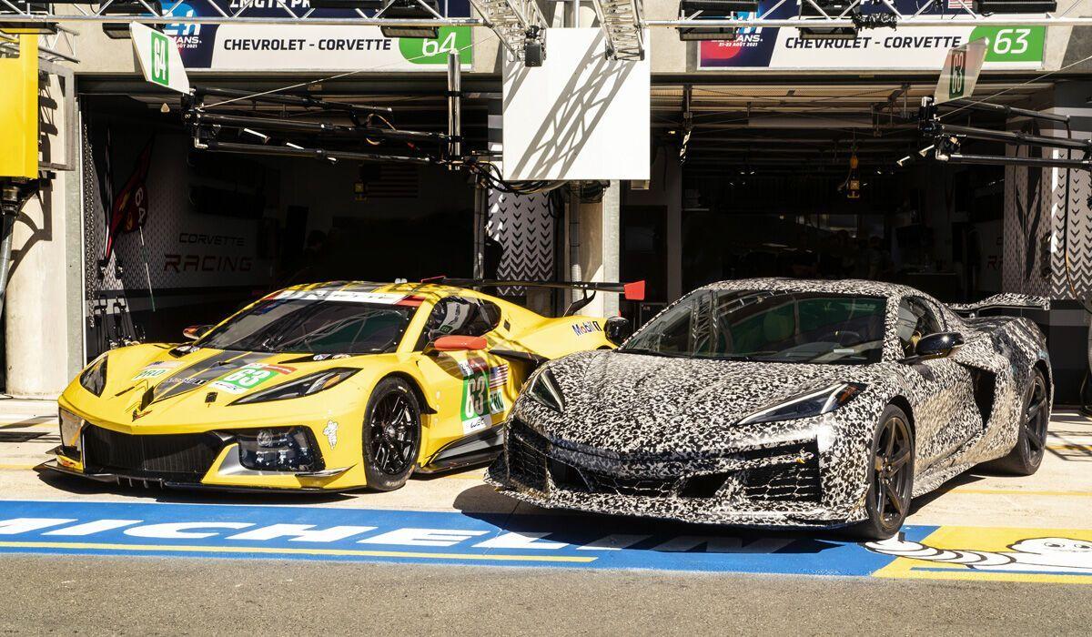 Спустя два года после дебюта новой генерации модели компания подготовила более мощную версию Corvette Z06