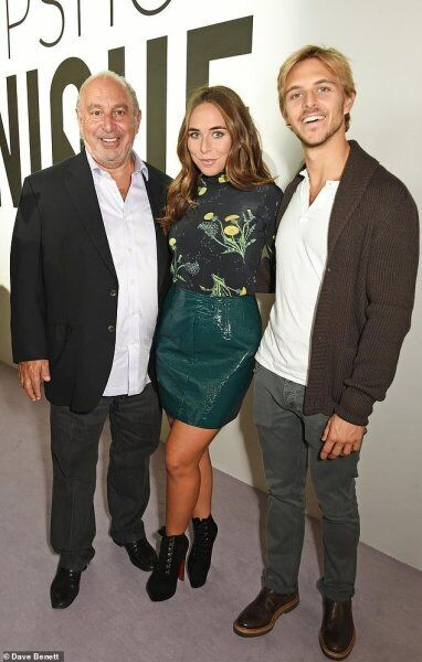 Брендон Грін із сестрою і батьком