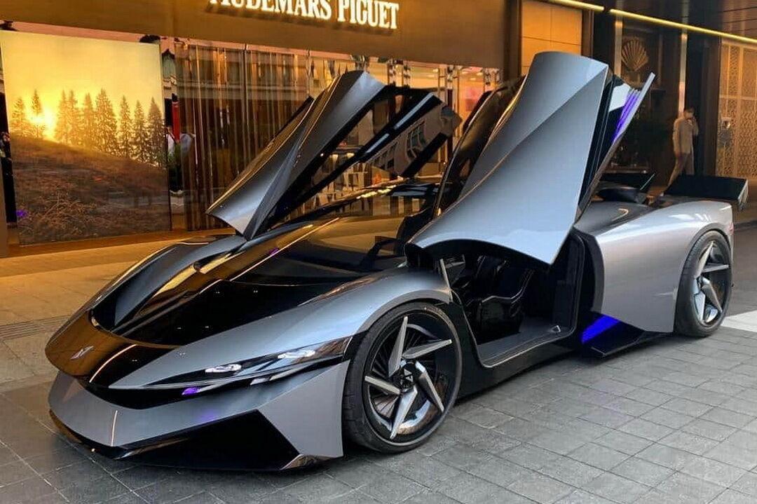 Китайская компания Farnova Automotive представила свое первое детище – электрический суперкар Othello