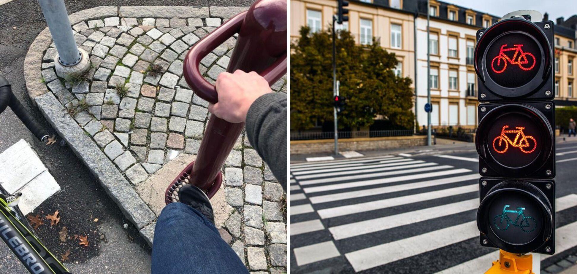 В Швеции есть светофоры для велосипедистов.