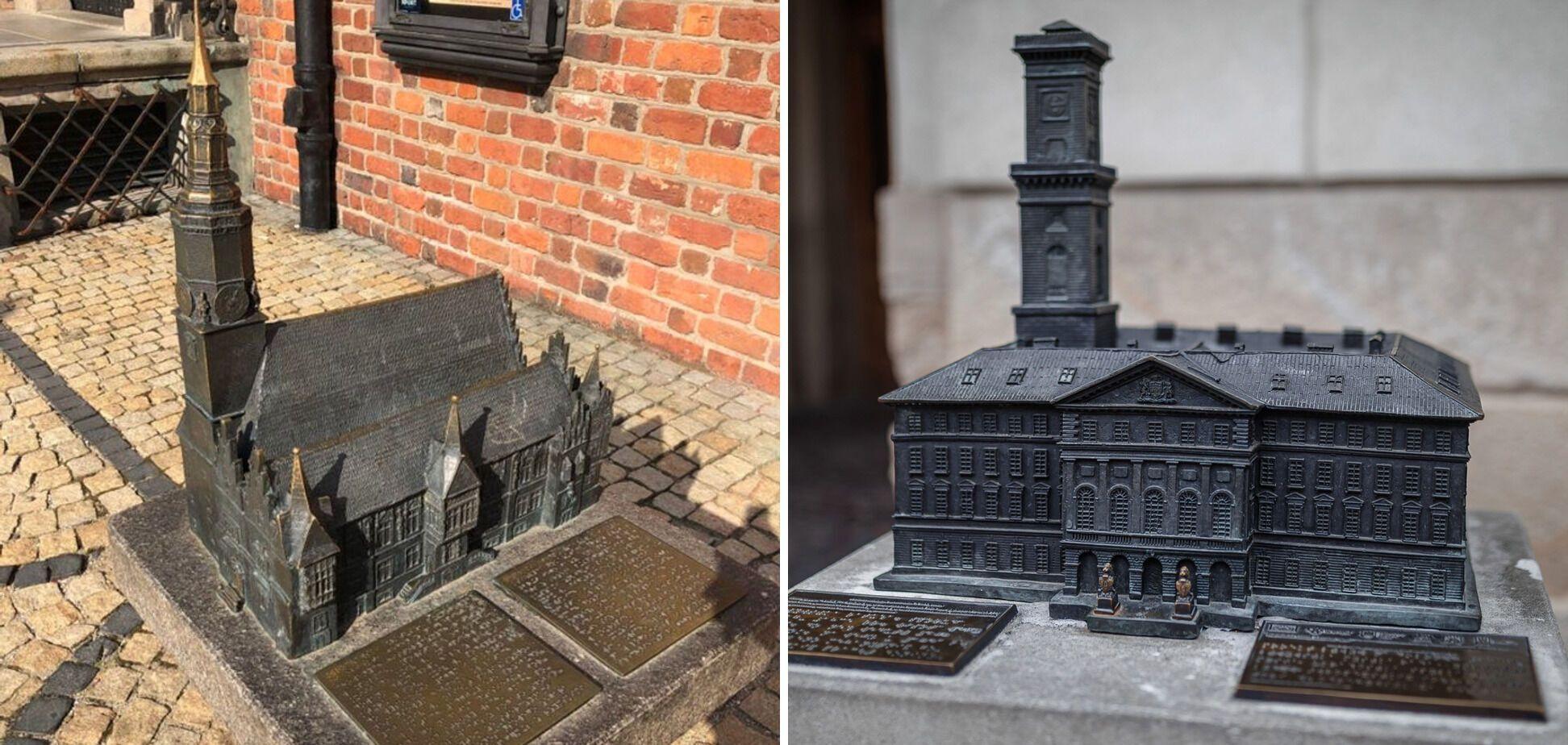 Во Львове и Кракове сделали памятники архитектуры для незрячих.