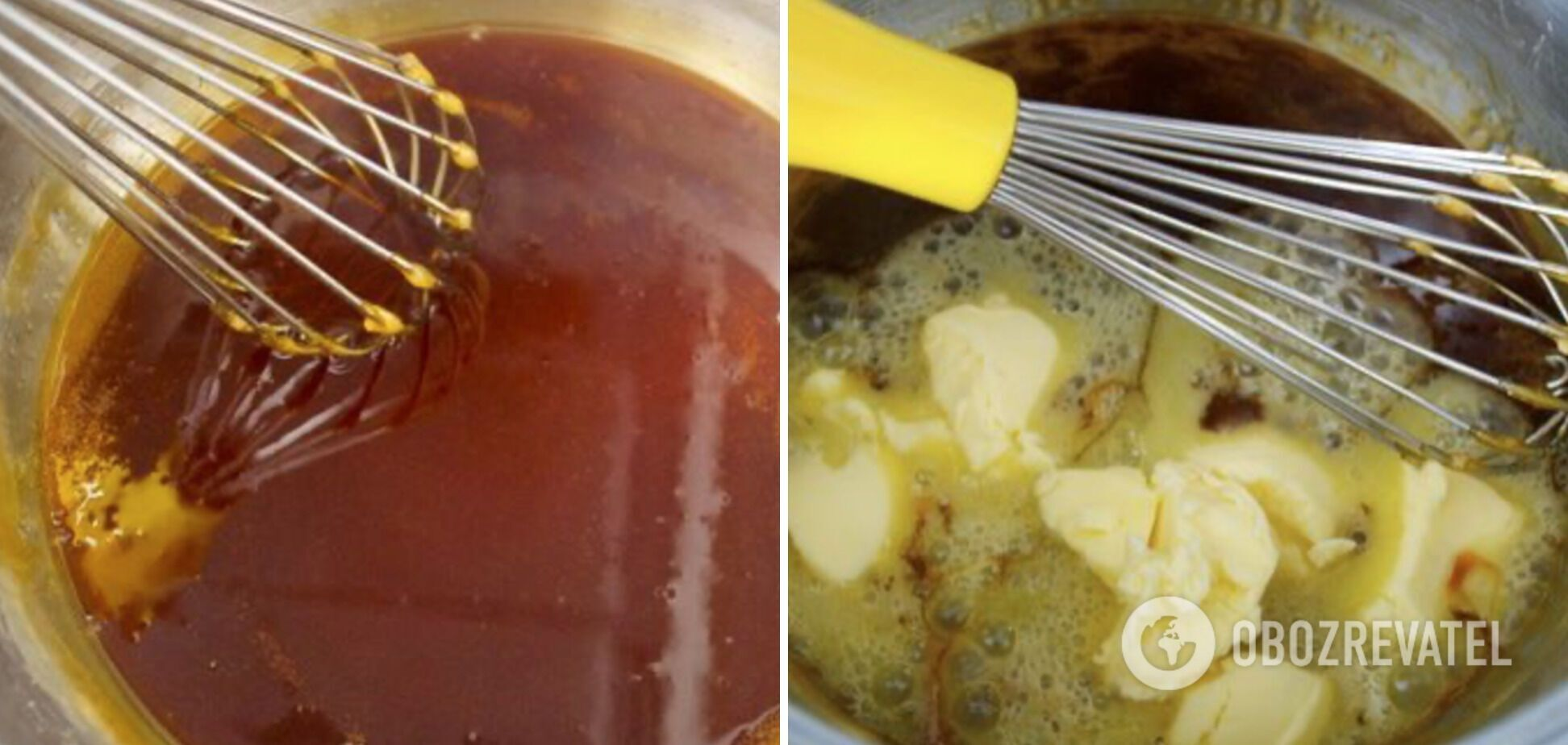 Обязательно добавляйте масло и сливки