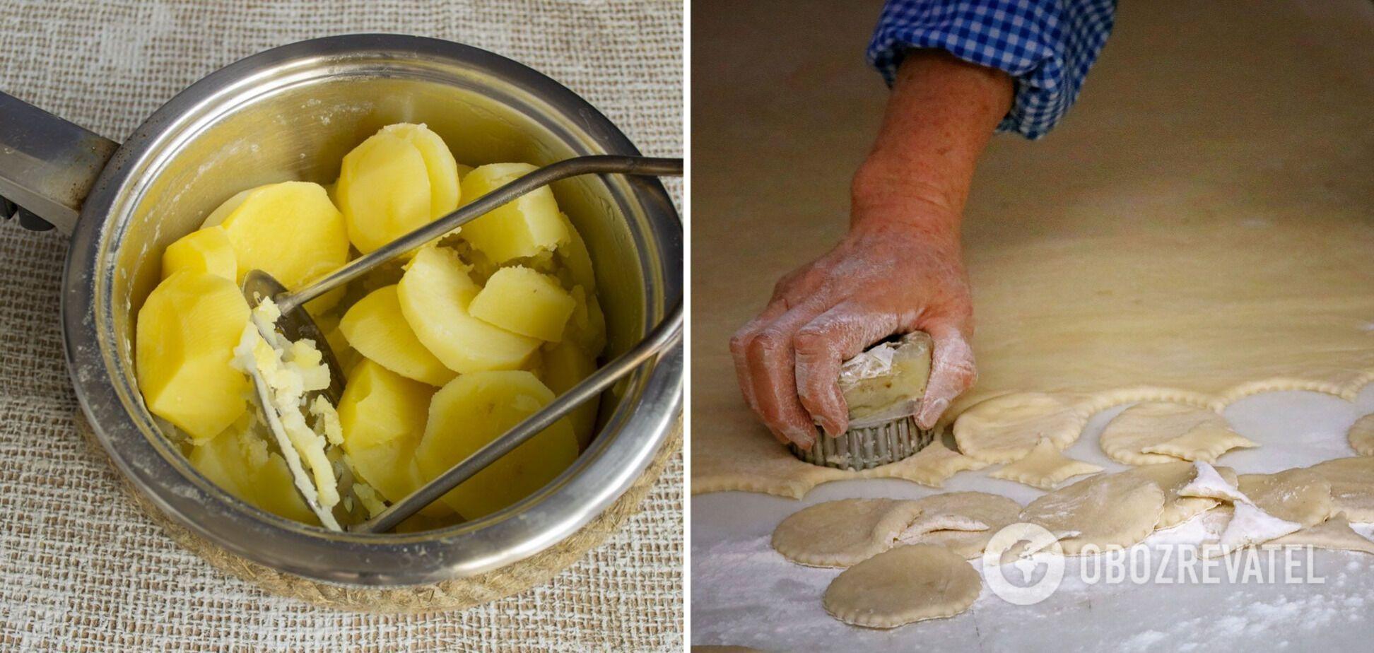 Як смачно приготувати вареники з картоплею