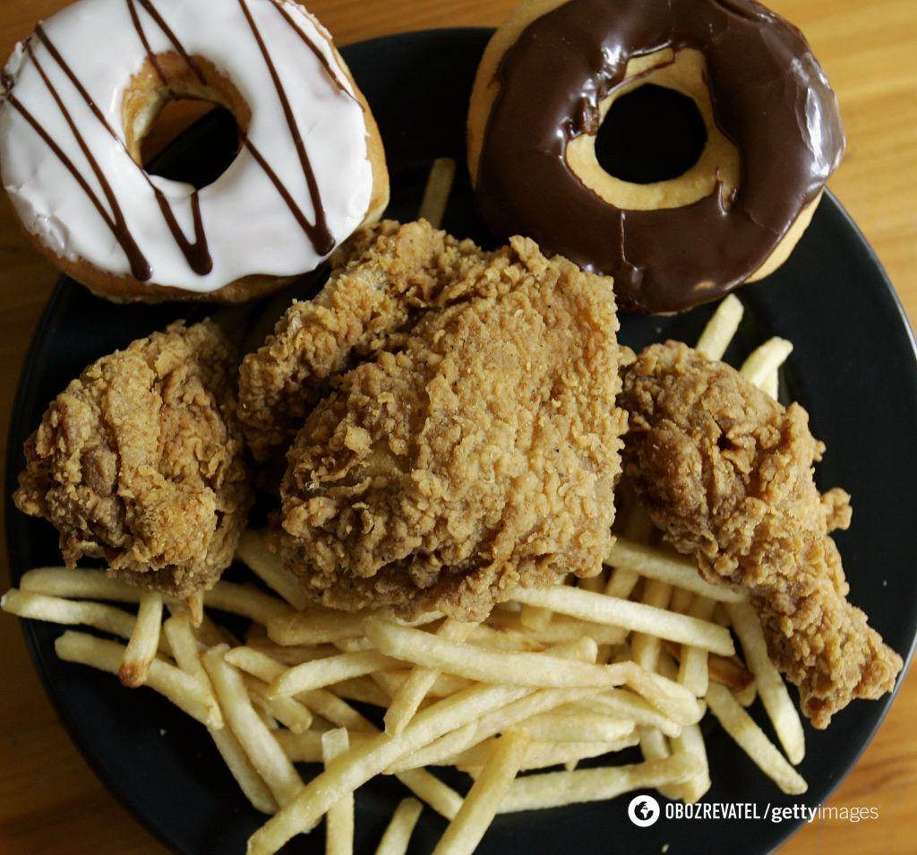 Жирна їжа