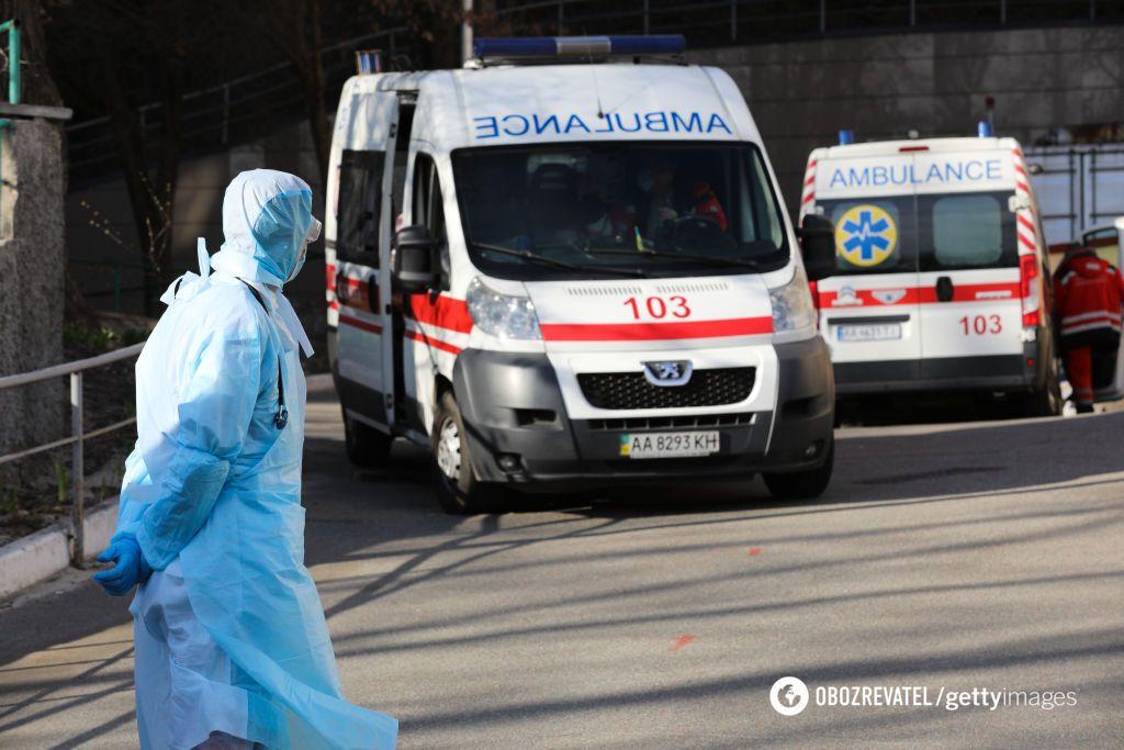Пандемия коронавируса в Украине