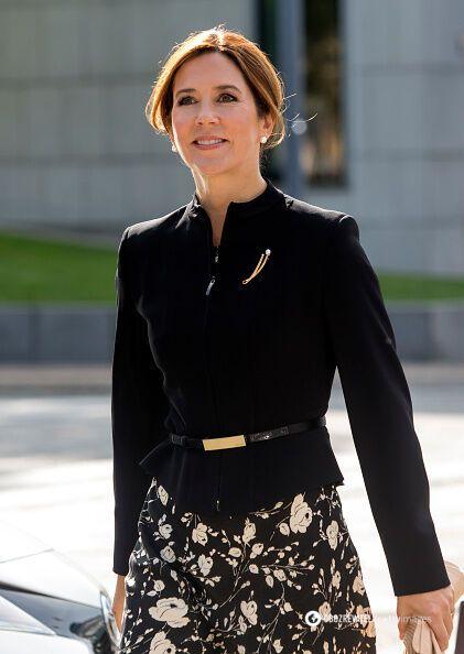 Принцеса Данії на церемонії пам'яті військовослужбовців.