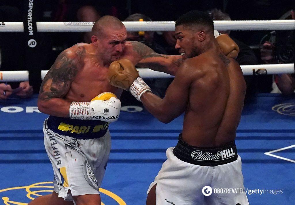 Усик здолав Джошуа в боксерському поєдинку