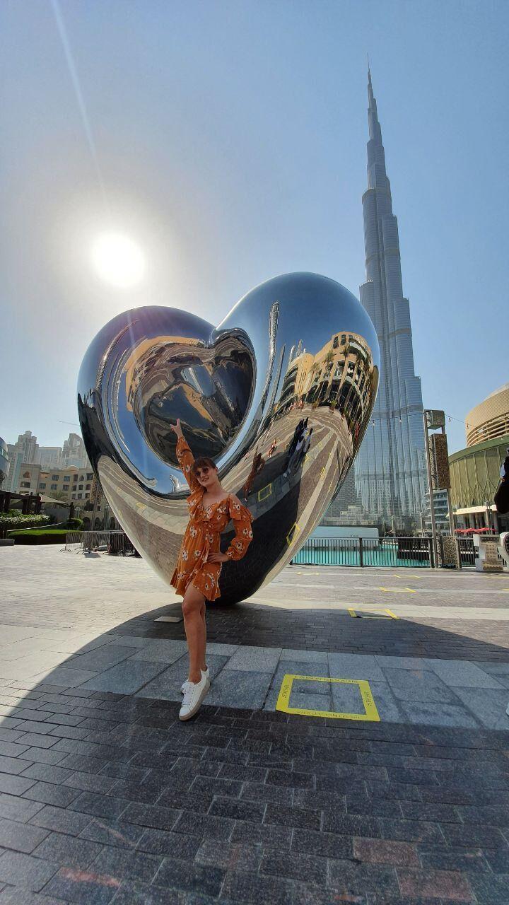 Marietta рассказала об отдыхе в Дубае и Эмиратах
