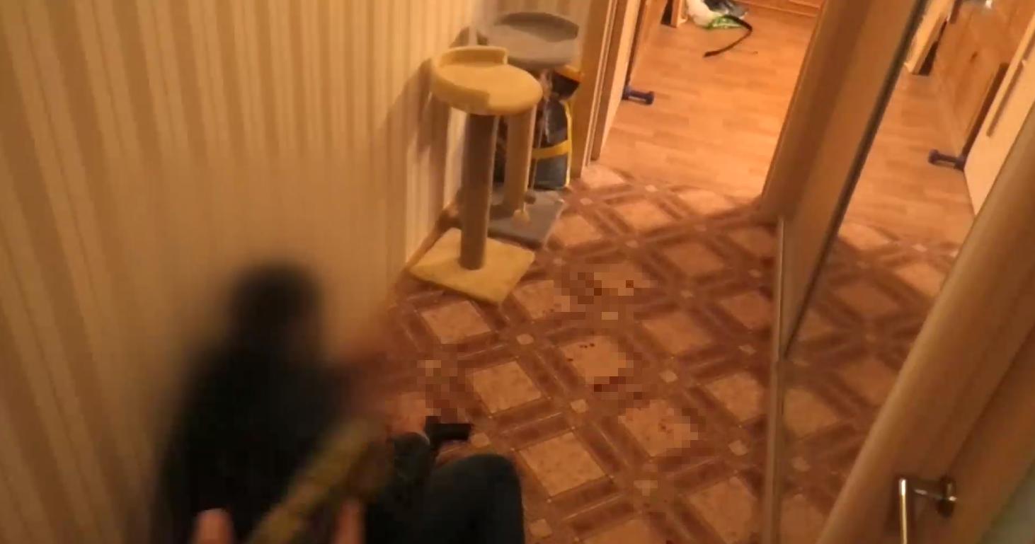 Підстрелений співробітник КДБ.