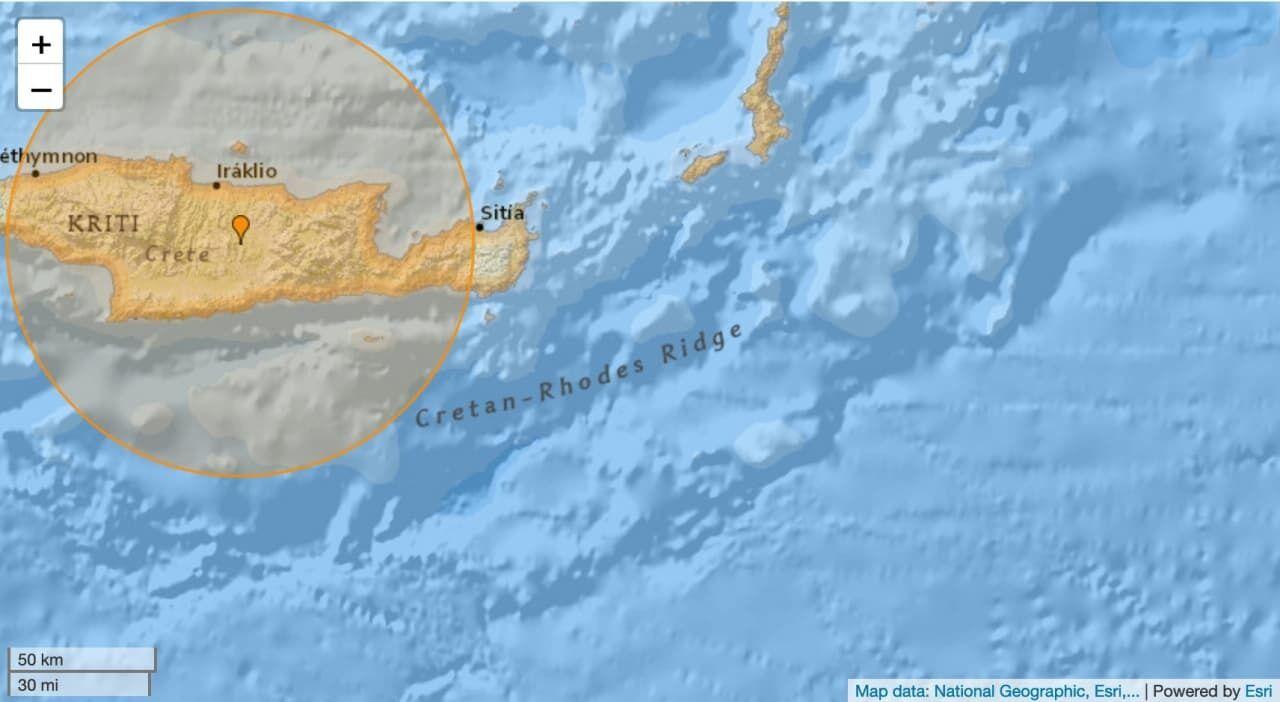 Карта места ЧП