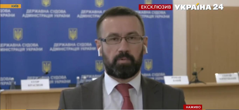 """Сергій Чорнуцький в ефірі телеканалу """"Україна 24"""""""