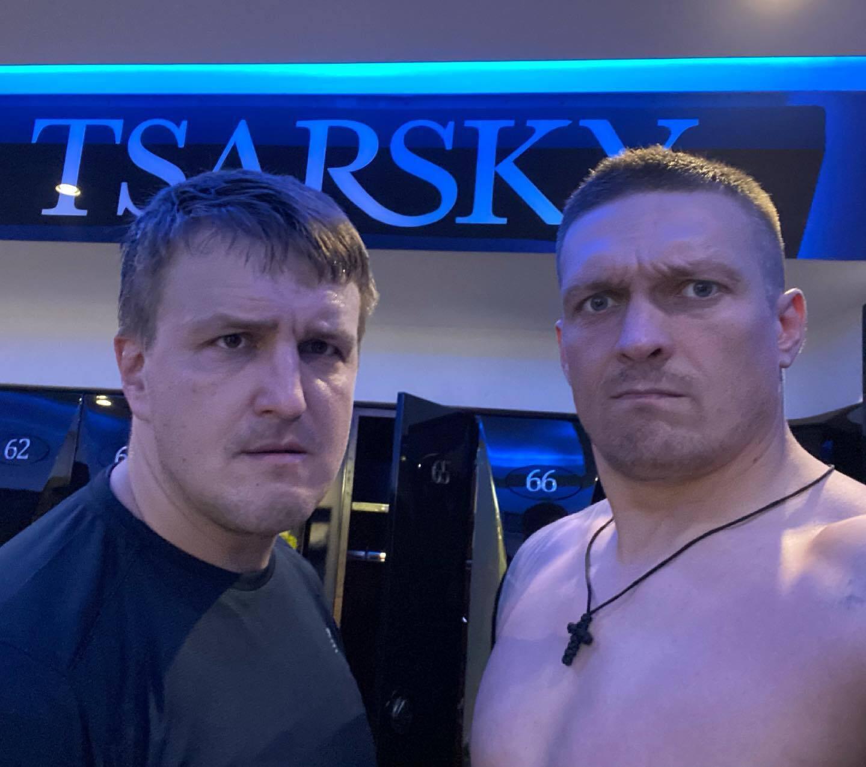 Бокс Усик Красюк