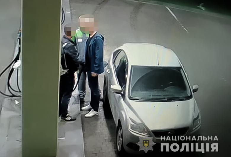 Инцидент произошел на АЗС в Днепровском районе Киева.