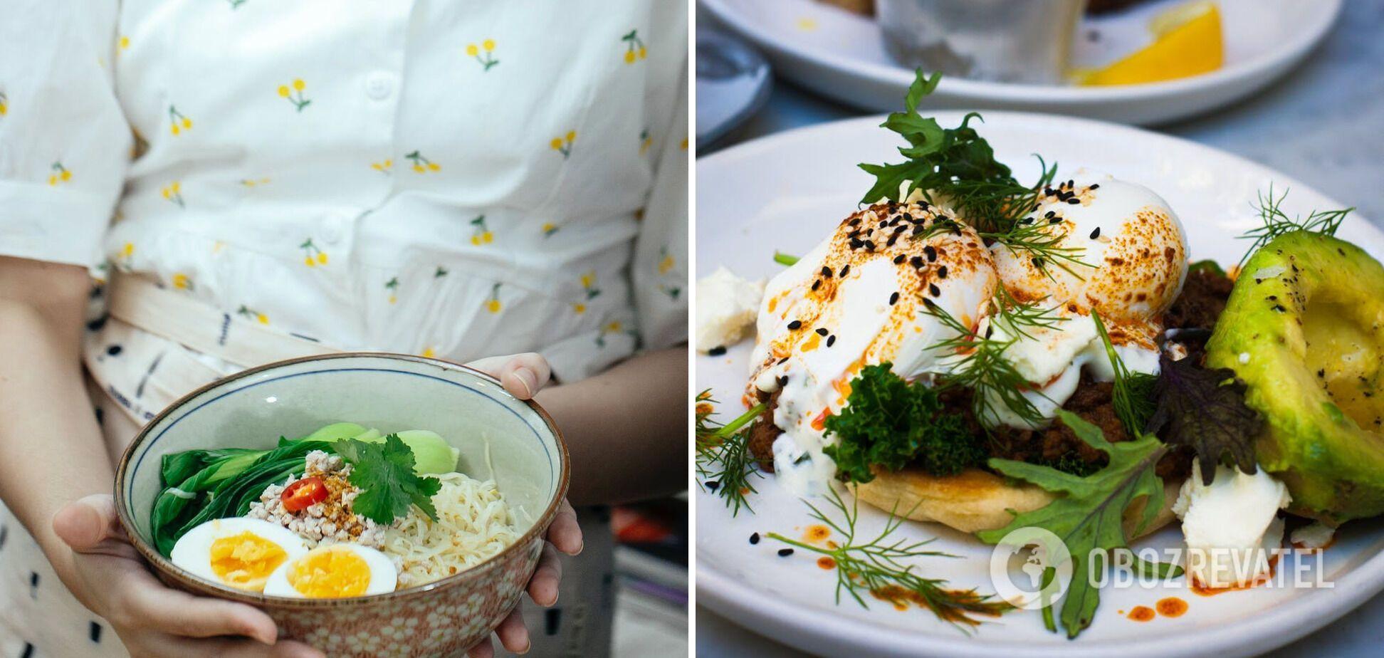 Корисний салат з яйцями