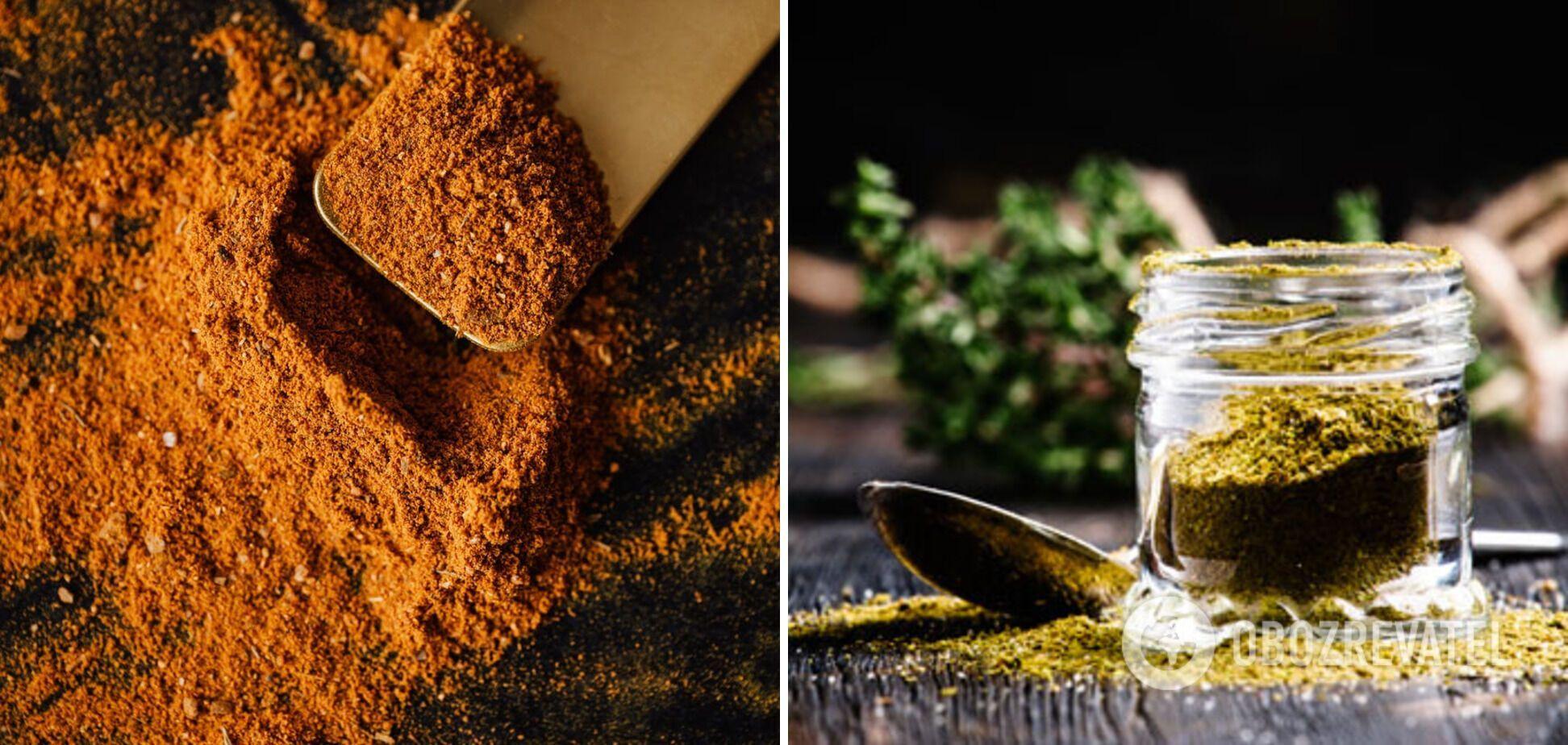 Куркума и хмели-сунели – специи по капусты